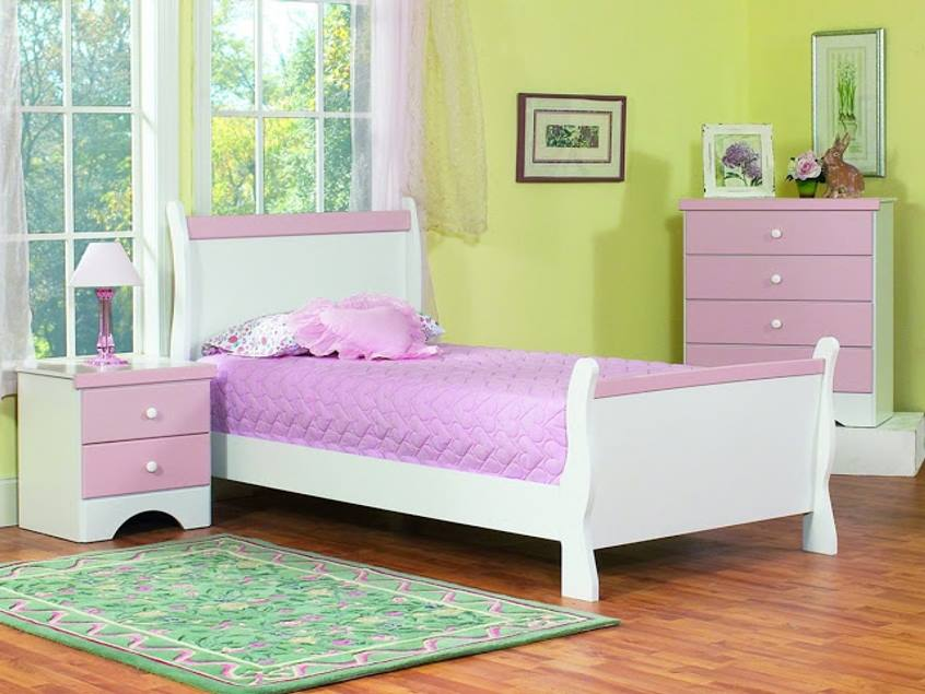 Minimalist Bedroom Color Selection For Children