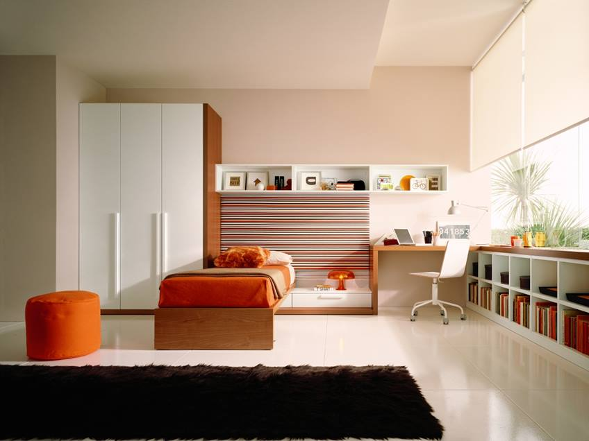 Minimalist Bedroom Design For Young Kids