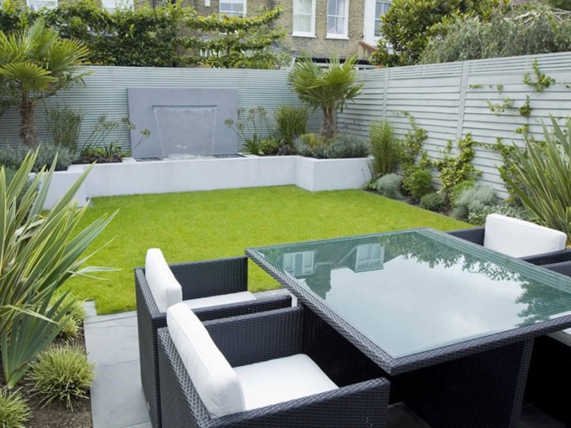 Minimalist Furniture For Backyard Garden