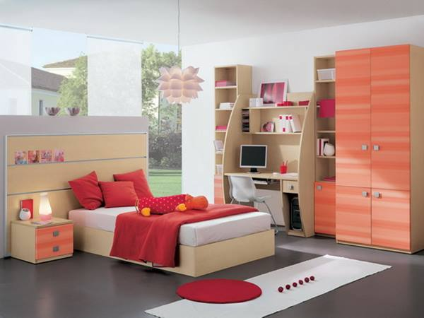 Minimalist Furniture For Girl Bedroom