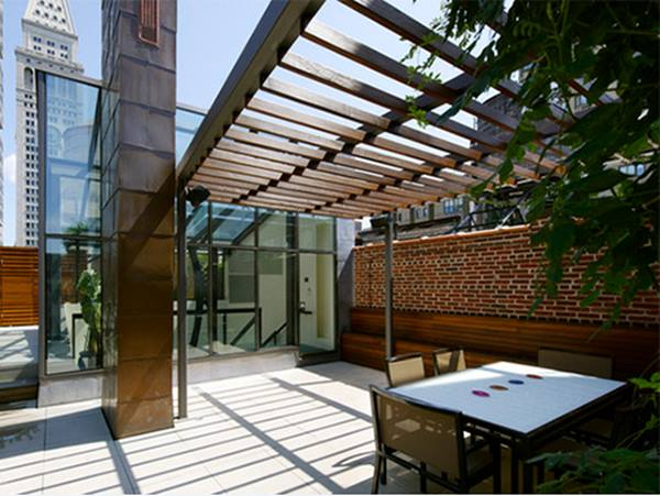 tips for minimalist terrace roof design 4 home ideas On terrace design with glass