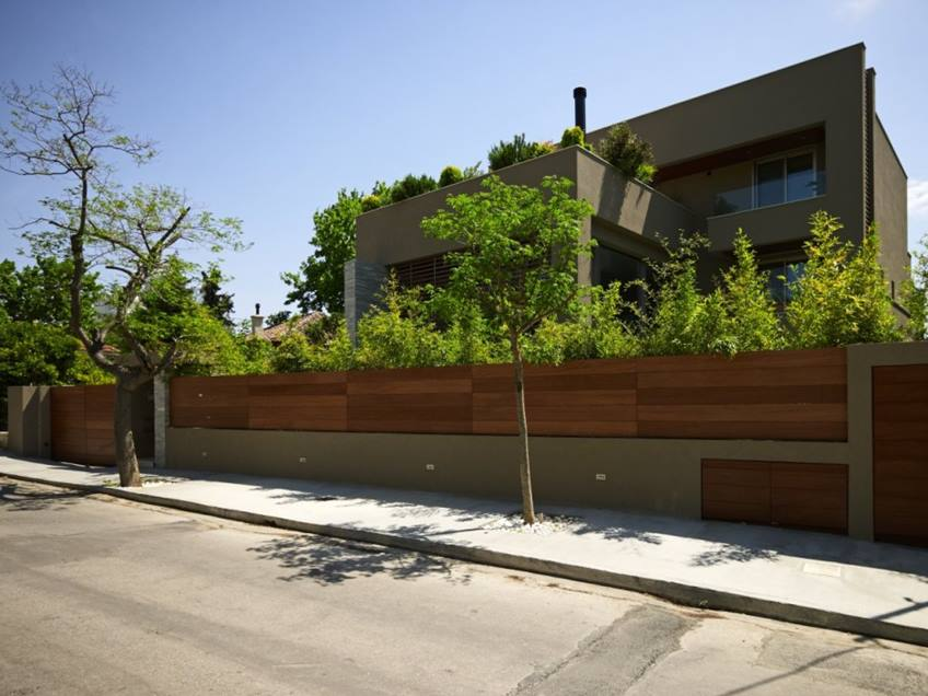 Minimalist Home Fence For Beautiful Look