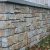 Minimalist Natural Stone Fence Design Idea