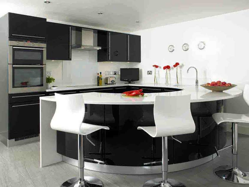 Modern Kitchen Furniture Decoration Idea