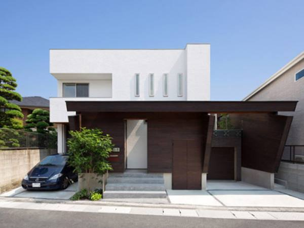 Modern Minimalist Urban Home Design Idea