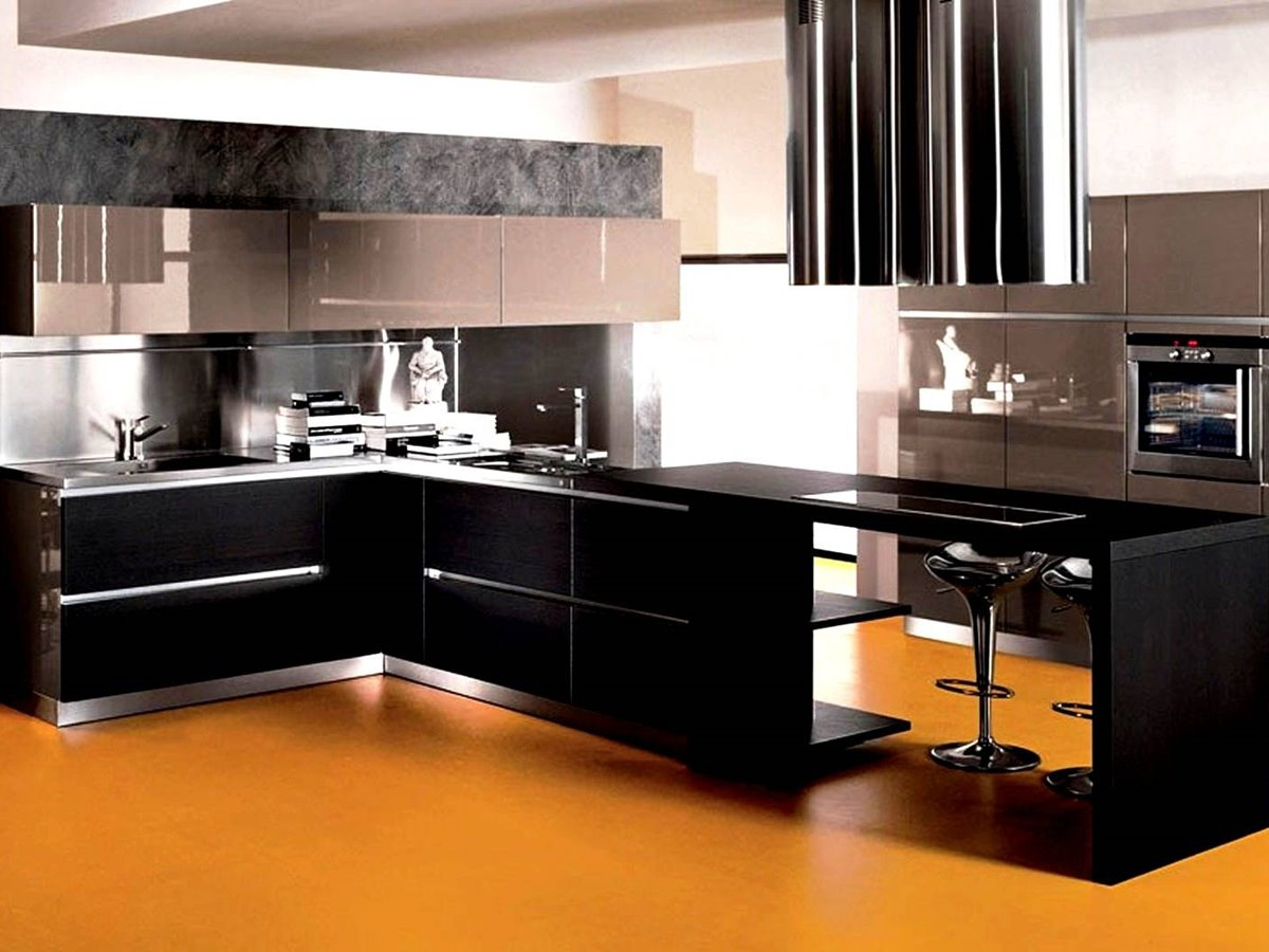 Latest interior design of modular kitchen 4 home ideas for Latest kitchen furniture design