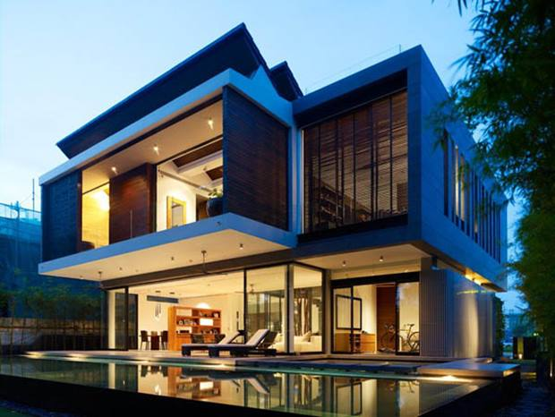 Newest Luxury 2 Storey Minimalist Home Gallery