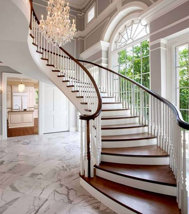 Decorating A Staircase Ideas Inspiration: Newest Home Stairs Design Inspiration