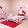 Nice Girl Bedroom With Hello Kitty Theme