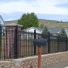 Nice Iron Fence With Minimalist Design