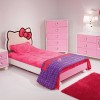 Pretty Girl Bedroom Design Idea