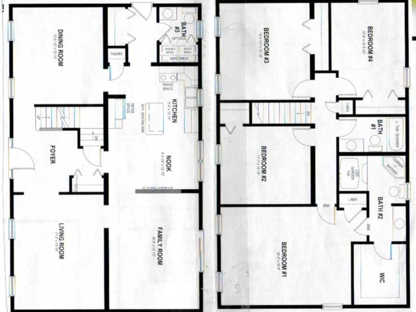 Small 2 Storey House Plan Design - 4 Home Ideas