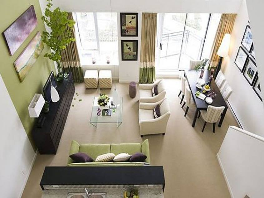 Small Living Room Arragement Tips