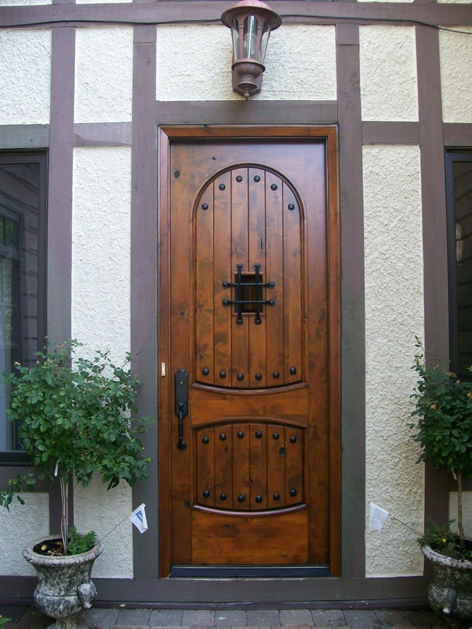 Small wooden door design model 4 home ideas for Door models for house