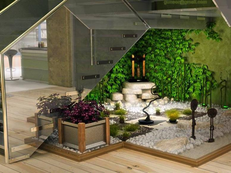 Indoor garden design for affordable home decor 4 home ideas for Indoor garden design pictures