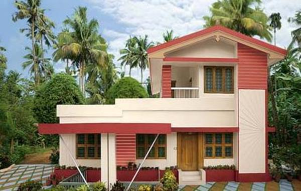 Modern Minimalist Home Exterior Paint Color Scheme 2019