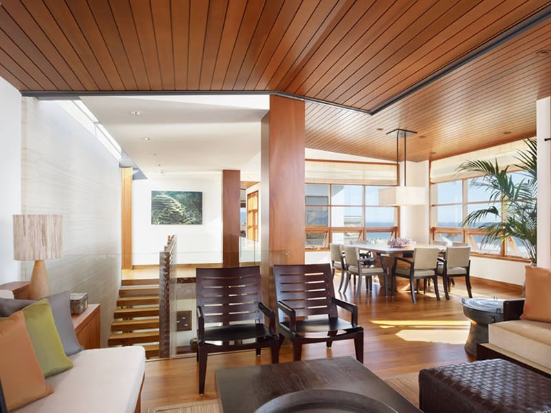 Tropical Wooden Home Interior Design