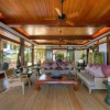 Tropical Wooden House Furniture Decor
