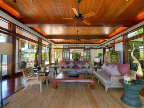 Lovely Tropical Wooden House Furniture Decor