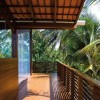 Tropical Wooden House Porch Decorating Idea