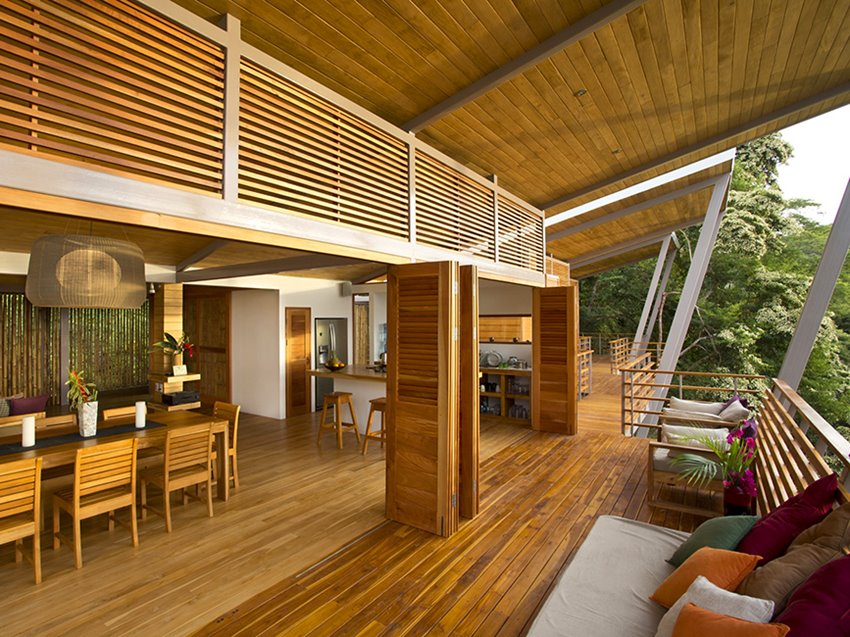 The Advantage Of Tropical Wooden Home Design 2019 Ideas