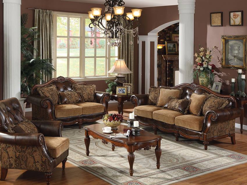 Vintage Furniture Design For Formal Living Room