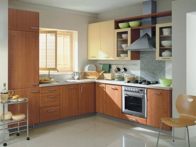 Wooden Furniture For Luxury Modern Kitchen