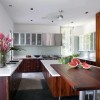 Wooden Minimalist Kitchen Furniture Color
