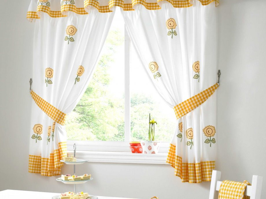 Beautiful Curtain Design For Kitchen