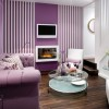 Beautiful Purple Living Room Color