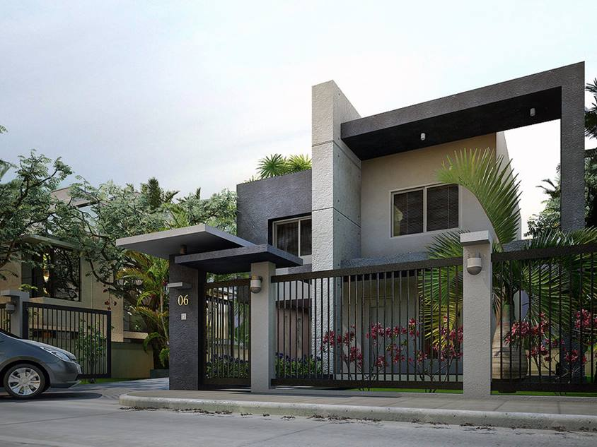 Best Affordable 2 Storey Modern Home