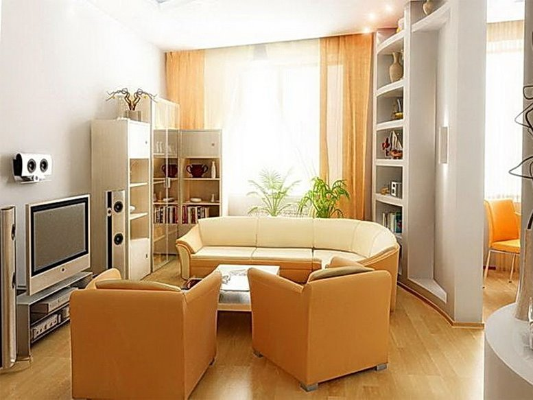 4 important aspects in designing small living room 4