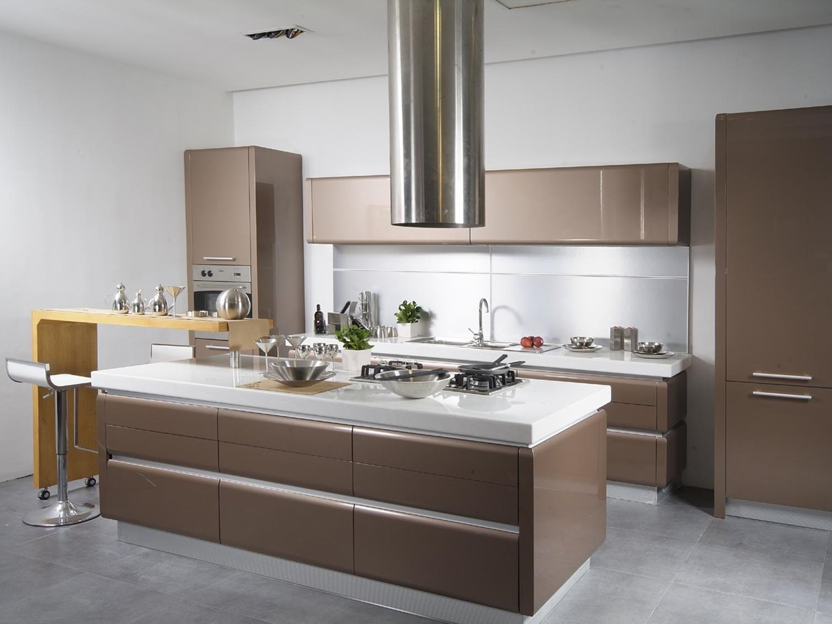 Tips for small modern kitchen organization 4 home ideas for Best colour combination for kitchen