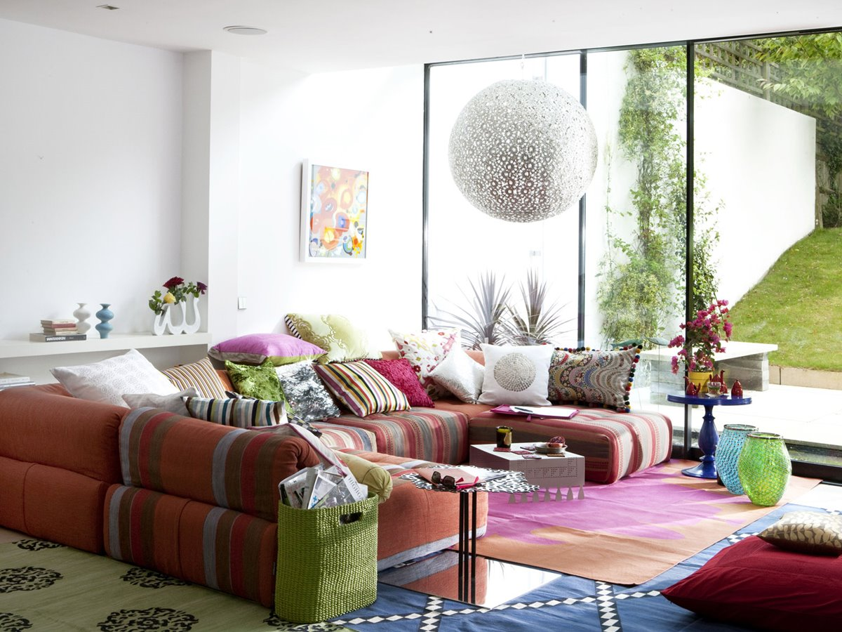 Colorful Modern Furniture Decorating Ideas