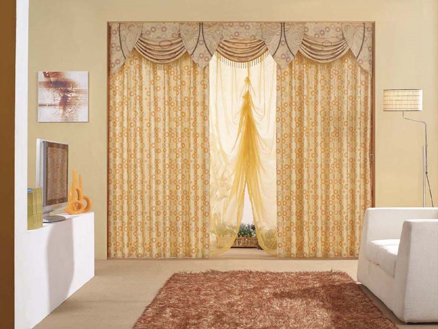 Curtain Design To Make Room Look Elegant