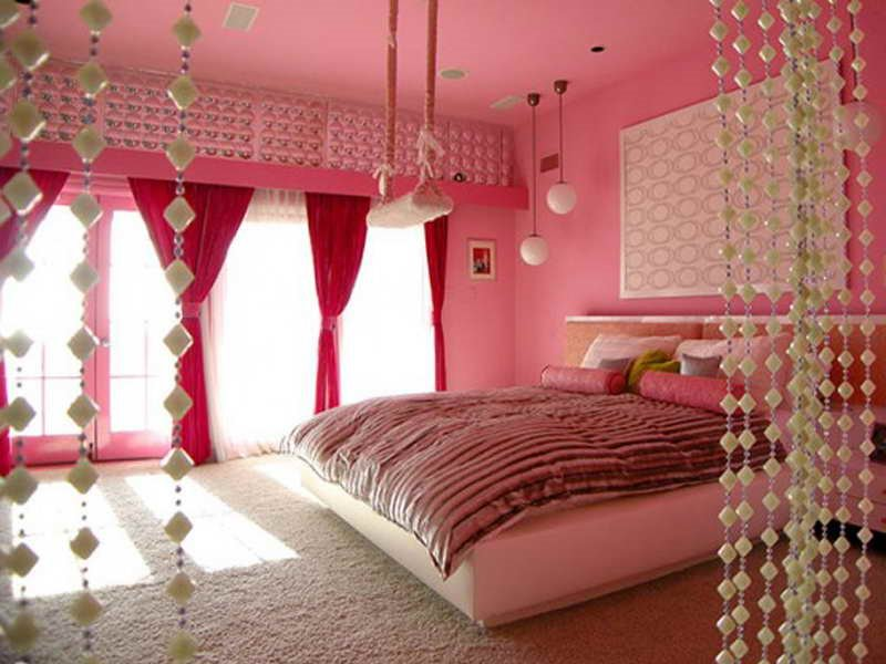 Cute Girly Bedroom Interior Design