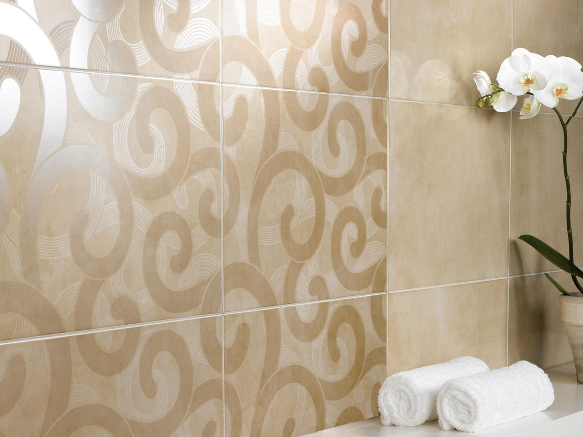 Decorative Ceramic Pattern For Bathroom Decor