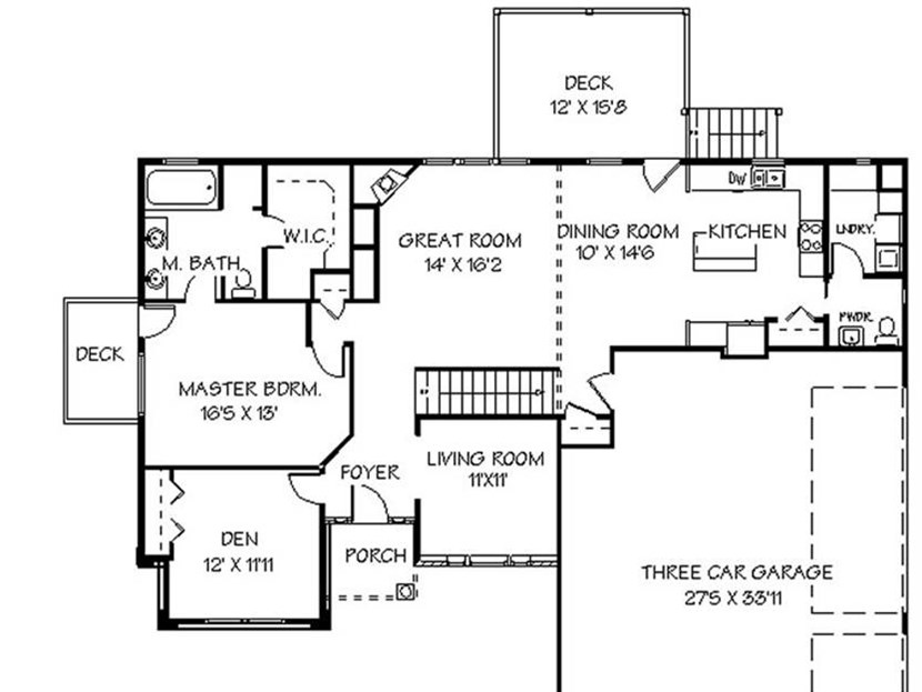 Create minimalist house plan in narrow land 4 home ideas for Easy to build small house plans
