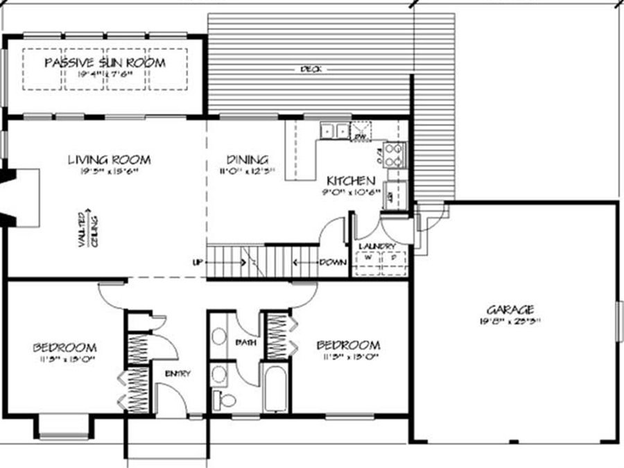 1 storey minimalist home plans for narrow land 4 home ideas - Small narrow house plans minimalist ...