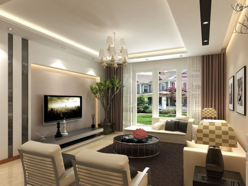 Elegant Living Room Sofa Design Photo