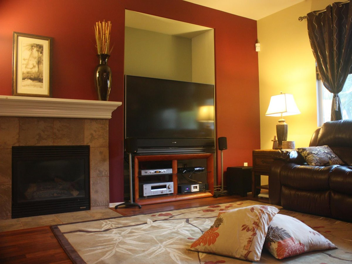 Family Room Paint Color Scheme
