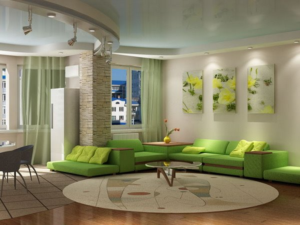 green minimalist living room paint color scheme 4 home ideas