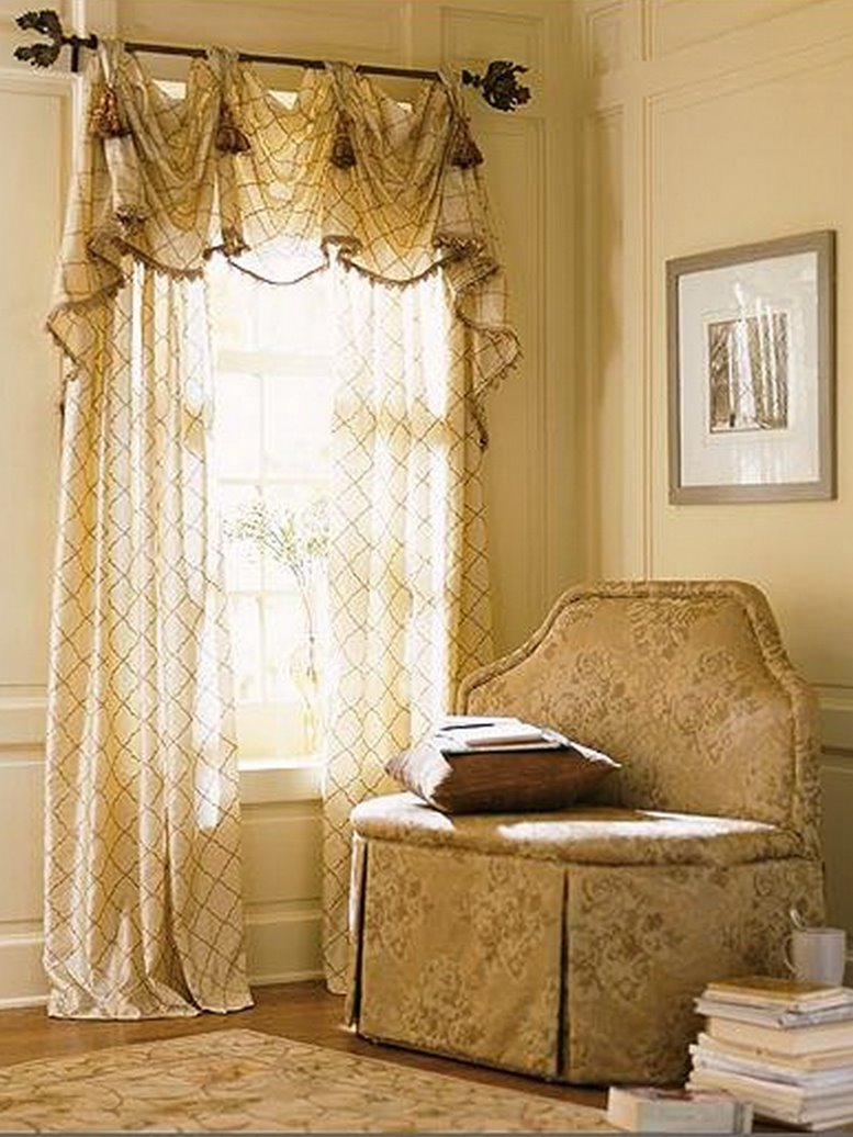 Home Curtain Color Design Selection Tips