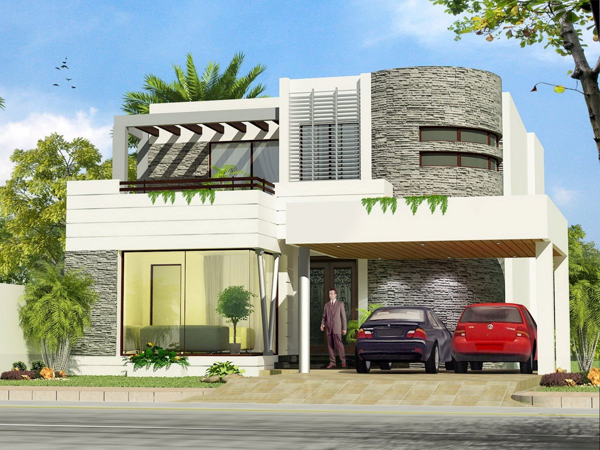 Pictures of 2 floor modern minimalist home design 4 home for 2nd floor house design in philippines