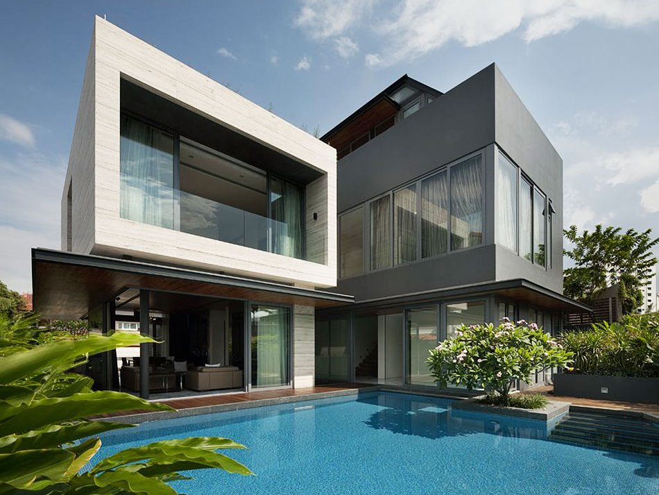 Interior and exterior design for dream house 4 home ideas for Beautiful dream house pictures
