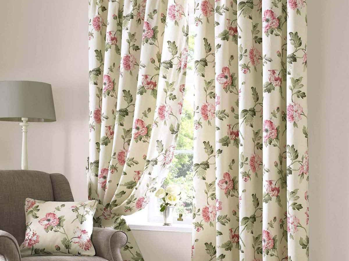 How To Choose Floral Home Curtain