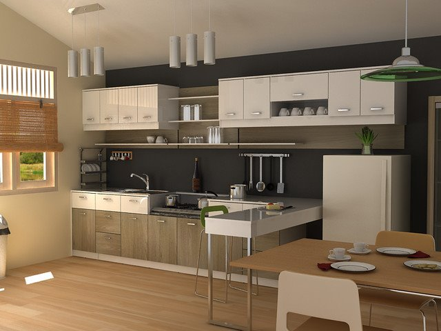 How To Decorate Modern Kitchen Interior