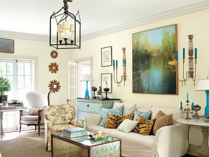 How To Decorate White Living Room