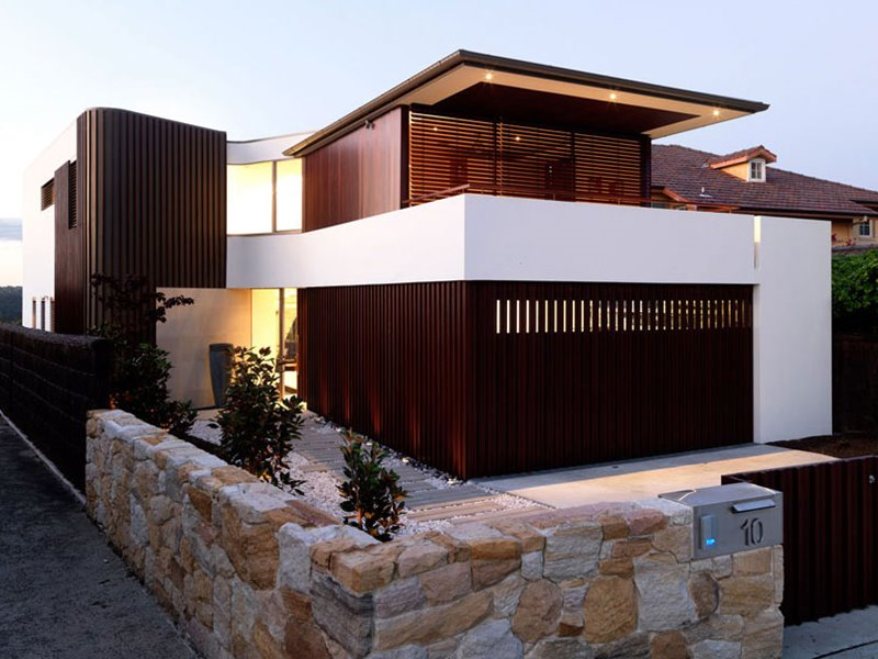 Latest Minimalist Home Fence 2015