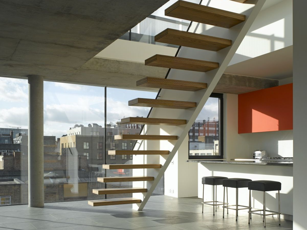 Latest Stairs Model For Modern Home